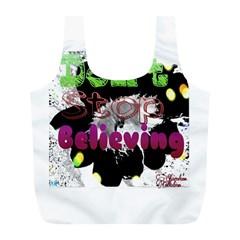 Don t Stop Believing Reusable Bag (L)