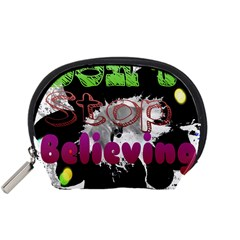 Don t Stop Believing Accessories Pouch (Small)