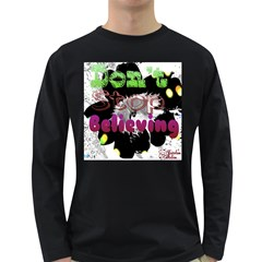 Don t Stop Believing Men s Long Sleeve T-shirt (Dark Colored)