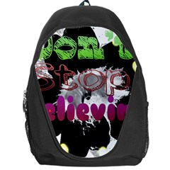Don t Stop Believing Backpack Bag