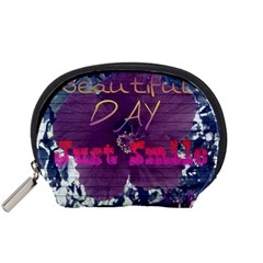 Beautiful Day Just Smile Accessories Pouch (Small)