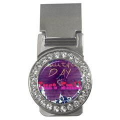 Beautiful Day Just Smile Money Clip (CZ)