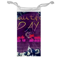 Beautiful Day Just Smile Jewelry Bag