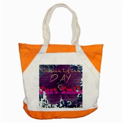 Beautiful Day Just Smile Accent Tote Bag