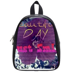 Beautiful Day Just Smile School Bag (Small)
