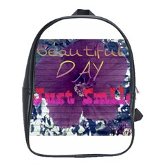 Beautiful Day Just Smile School Bag (xl)