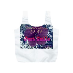Beautiful Day Just Smile Reusable Bag (S)