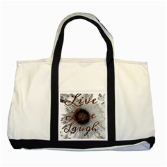 Live love laugh Two Toned Tote Bag