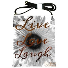 Live Love Laugh Shoulder Sling Bag
