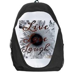 Live love laugh Backpack Bag