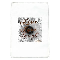 Live Love Laugh Removable Flap Cover (large)