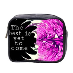 The best is yet to come Mini Travel Toiletry Bag (Two Sides)
