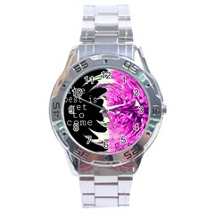 The Best Is Yet To Come Stainless Steel Watch