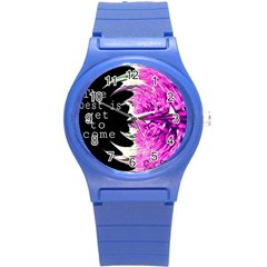 The best is yet to come Plastic Sport Watch (Small)