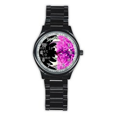 The Best Is Yet To Come Sport Metal Watch (black)