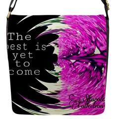 The best is yet to come Flap Closure Messenger Bag (Small)