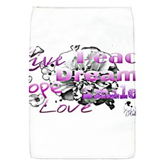 Live Peace Dream Hope Smile Love Removable Flap Cover (small)