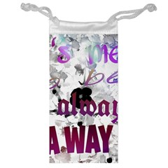 What s meant to be will always find a way Jewelry Bag