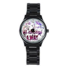 What s meant to be will always find a way Sport Metal Watch (Black)