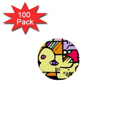 Fighting The Fog 1  Mini Button (100 Pack)