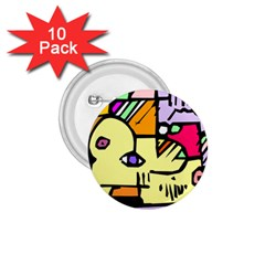 Fighting The Fog 1.75  Button (10 pack)