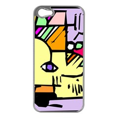 Fighting The Fog Apple iPhone 5 Case (Silver)