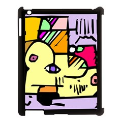 Fighting The Fog Apple iPad 3/4 Case (Black)