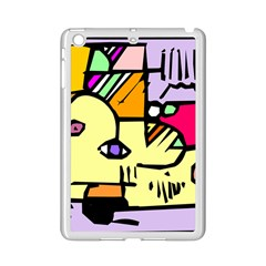 Fighting The Fog Apple iPad Mini 2 Case (White)