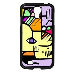 Fighting The Fog Samsung Galaxy S4 I9500/ I9505 Case (Black)