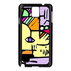 Fighting The Fog Samsung Galaxy Note 3 N9005 Case (black)