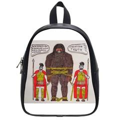 Big Foot & Romans School Bag (Small)