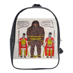 Big Foot & Romans School Bag (xl)