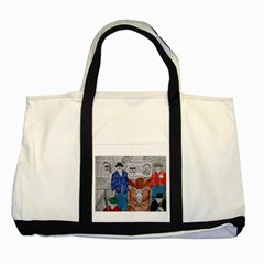 Murdered Big Foot Human,1910, Two Toned Tote Bag
