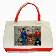Murdered Big Foot Human,1910, Classic Tote Bag (Red)