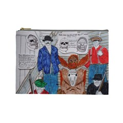 Murdered Big Foot Human,1910, Cosmetic Bag (large)