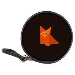 Dark Cute Origami Fox CD Wallet