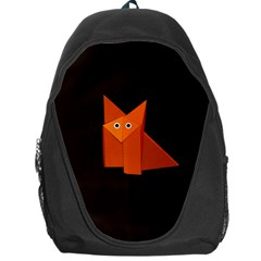 Dark Cute Origami Fox Backpack Bag