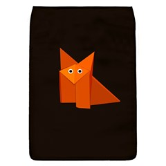 Dark Cute Origami Fox Removable Flap Cover (Large)