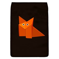 Dark Cute Origami Fox Removable Flap Cover (Small)