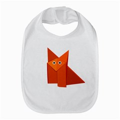 Cute Origami Fox Bib