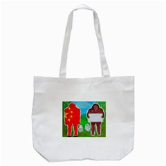 2 Yeh Ren,text & Flag In Forest  Canvas Tote Bag