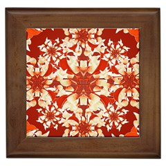 Digital Decorative Ornament Artwork Framed Ceramic Tile