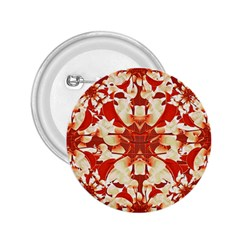 Digital Decorative Ornament Artwork 2.25  Button