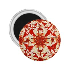 Digital Decorative Ornament Artwork 2.25  Button Magnet