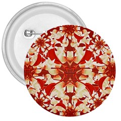 Digital Decorative Ornament Artwork 3  Button