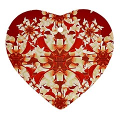 Digital Decorative Ornament Artwork Heart Ornament