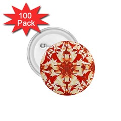 Digital Decorative Ornament Artwork 1.75  Button (100 pack)