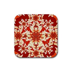 Digital Decorative Ornament Artwork Drink Coasters 4 Pack (Square)
