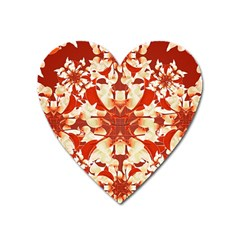 Digital Decorative Ornament Artwork Magnet (heart)