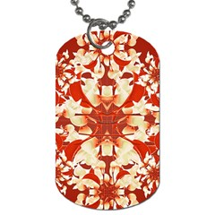 Digital Decorative Ornament Artwork Dog Tag (one Sided)